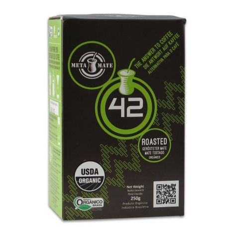 Bio Mate Tee - META MATE 42 Roasted 250g - gerösteter Mate Tee aus Brasilien